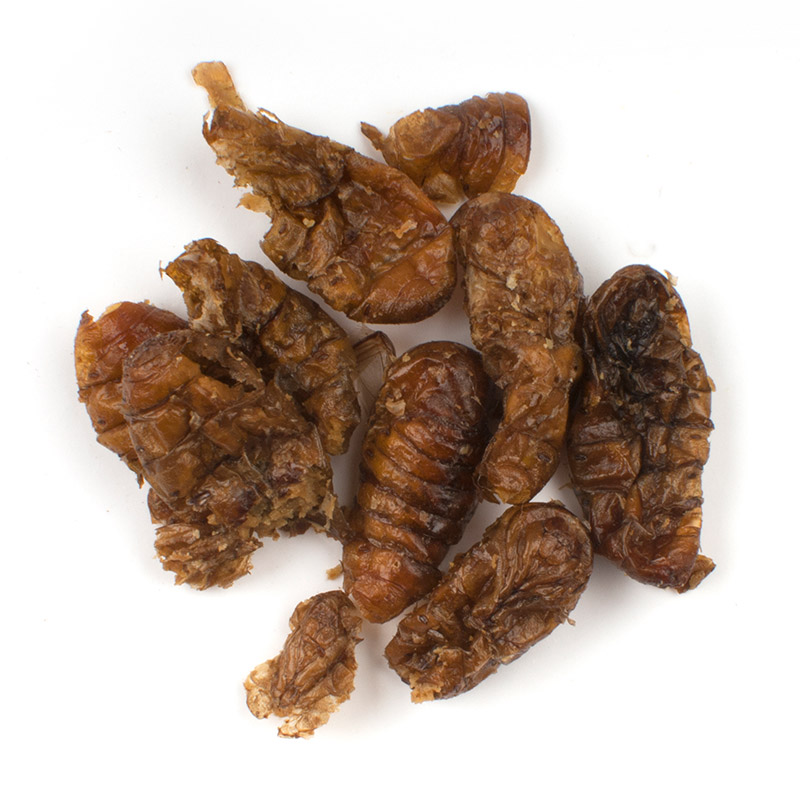 Whole Silkworm Pupae