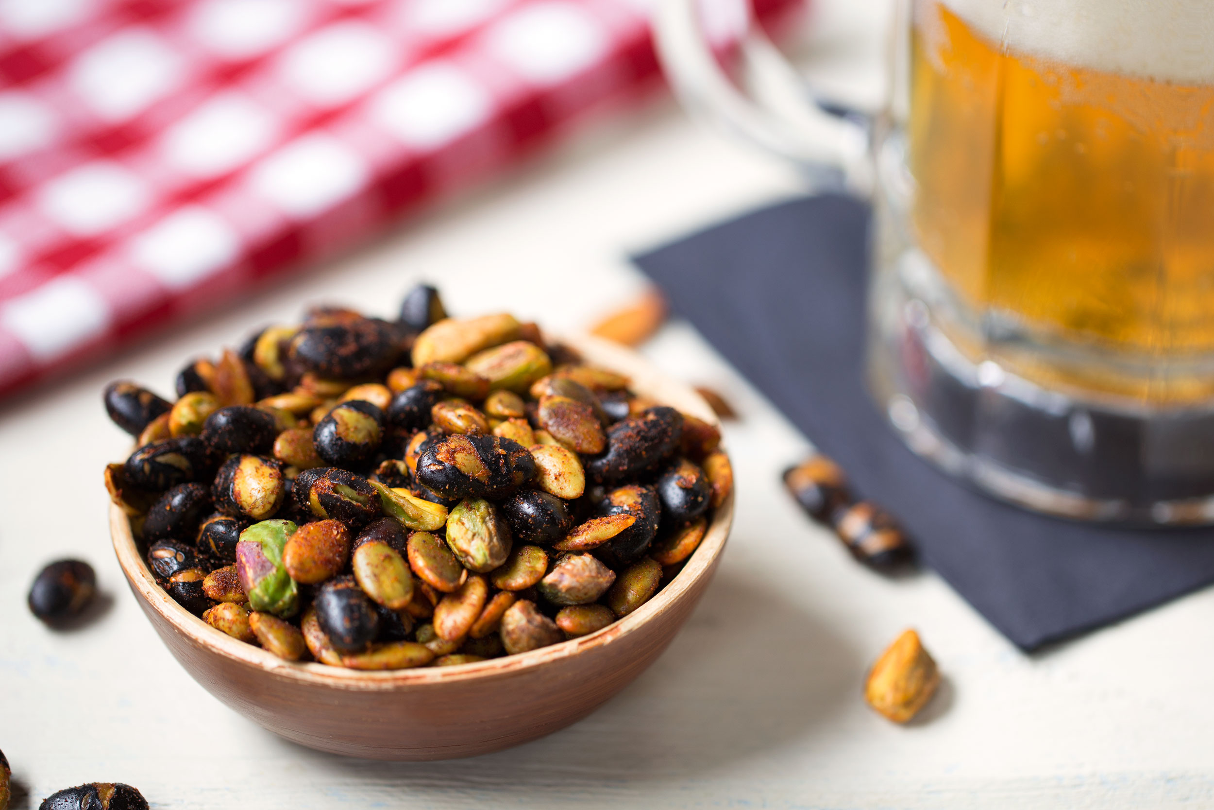 Roasted Black Soybean Party Mix