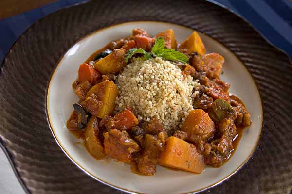 Couscous with Cinnamon and Nutmeg