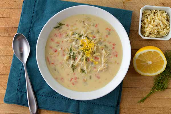 Avgolemono Chicken Soup