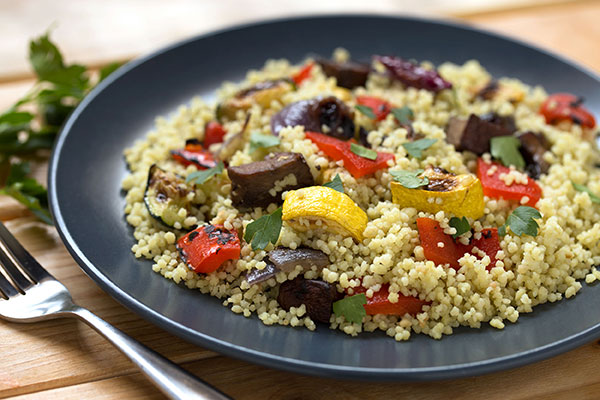 Spinach Couscous