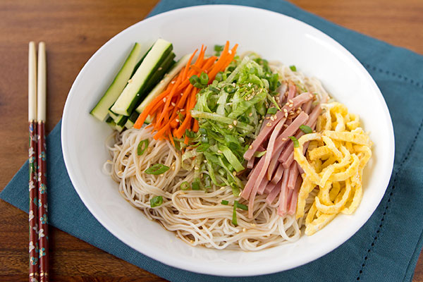 Hawaiian Cold Somen Noodle Salad