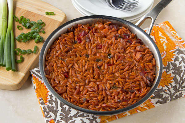 Sweet Potato Orzo Casserole
