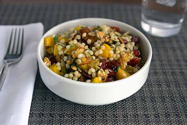 Middle Eastern Couscous Salad with Dried Fruit