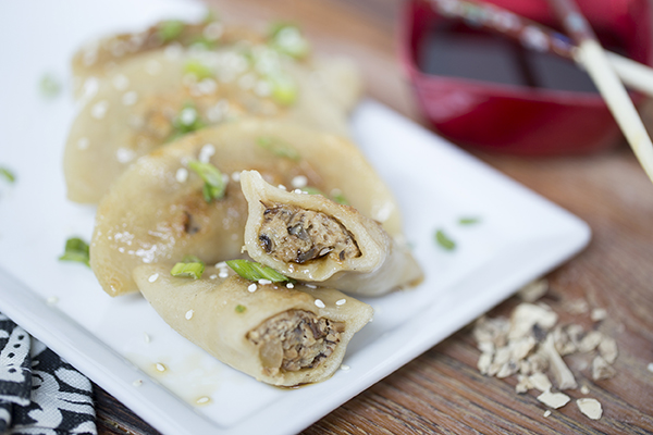 Mushroom gyoza copyright recipe 2016 woodland foods forumfinder Images