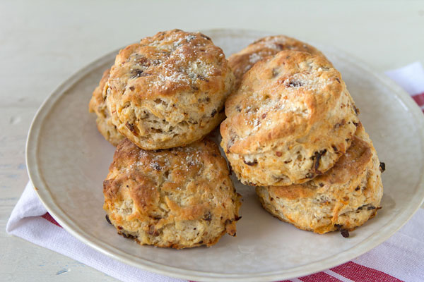 Sun-Dried Tomato and Parmesan Biscuits