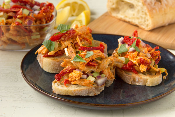 Smoky Sun-Dried Tomato Chicken Salad