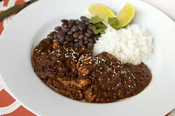 Pulled Mole Chicken