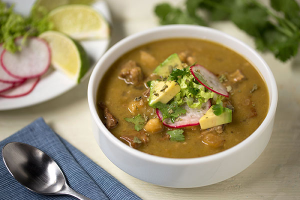 Green Pork Chili (Posole)