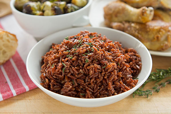 Camargue (French Red) Rice Pilaf