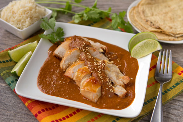 Turkey in Mole Poblano