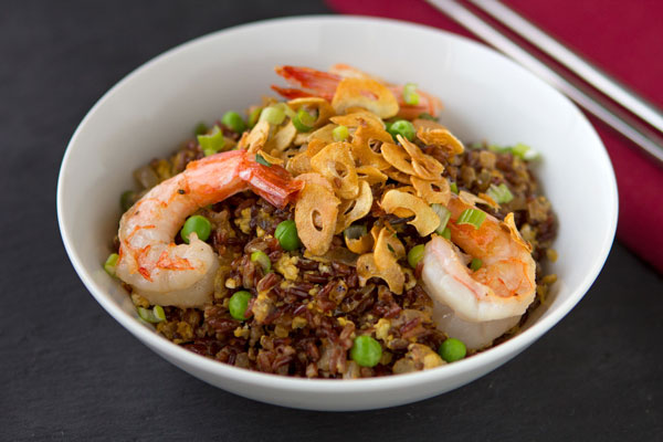 XO Sauce Fried Kermes Rice with Shrimp