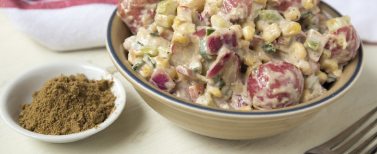 Potato Salad with Roasted Cumin Dressing